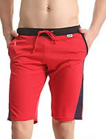 Men's Polyester Short Pants Pajamas Men's Outdoor Sports Short Pants Beachwear Swimwear