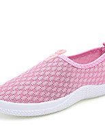 Women's Shoes Casual/Running/Travel Fashion Tulle Learther Shoes Gray/Bule/Pink/Black