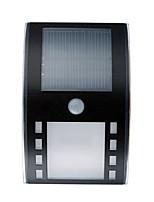 hry® 3leds blanco solar de color motor llevó sensor de movimiento PIR pared de la trayectoria al aire libre de la lámpara de seguridad de