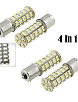 4 in1 1156/68 ba15s de SMD LED blanco (CC 12V)