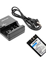 ismartdigi EL9 Digital Camera Battery + O.Charger for Nikon D60/D40/D40X/D500 EL9