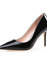 Chaussures Femme-Mariage / Bureau & Travail / Habillé / Décontracté / Soirée & Evénement-Noir / Rouge / Blanc / Peau-Talon Aiguille-