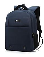 14.4 15.6 polegadas impermeável unisex laptop mochila mochila saco de viagem escola mochila para macbook / dell / hp, etc