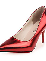 Women's Shoes Stiletto Heel Pointed Toe Heels Dress Red / Silver