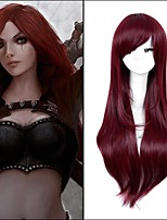Popular! Long Straight Mixed Color Cosplay Style Synthetic Wigs Top Quality