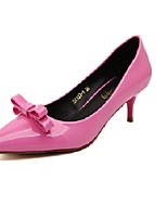 Women's Shoes Patent Leather Low Heel Heels Heels Wedding / Office & Career / Party & Evening