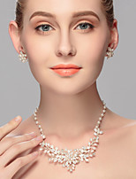 Women's Pearl Jewelry Set Imitation Pearl