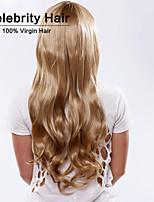 moda riccio onde colore biondo di alta qualità parrucche sintetiche dei capelli.