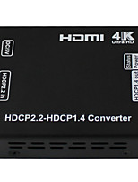 Newest HDCP Converter HDMI Products HDCP 2.2 to HDCP 1.4 Support 3D, CEC Resolution Up to 4kx2k @60HZ ,YCBCR 4:2:0