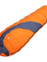 Спальный мешок Кокон Односпальный комплект (Ш 150 x Д 200 см) -10--10 Пористый хлопок80 Походы На открытом воздухеВлагонепроницаемый