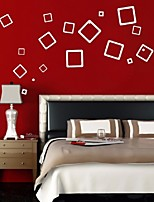 3D Mirror Wall Sticker 21 Square Decorative Wall Stickers Portfolio