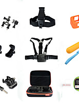 9 Accessori GoPro Accessori Kit Per Gopro Hero 4 Session Tutto in unoSub e immersioni / Pattinare / Motoslitta / Sci / Caccia e Pesca /