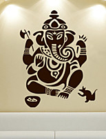 Ganesha Decoration Walls Brick Wallpaper Decorative diy Mural Wallpaper Home Decoration