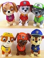 Walking Barking Musical Robot Dog Patrol Interactive Electric Pets Plush Toy Electronic Pet Toys Best Gift For Kids