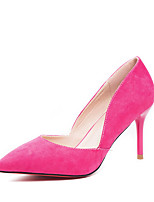 Women's Shoes Suede Stiletto Heel Heels / Pointed Toe / Closed Toe Heels Dress More Colors Available