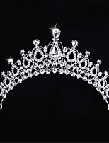 왕관 여성 / 플라워 걸 웨딩 / 특별한날 라인석 / 합금 투구 웨딩 / 특별한날 1개