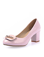 Women's Shoes Chunky Heel Heels Heels Office & Career / Party & Evening / Dress Black / Blue / Pink / Beige