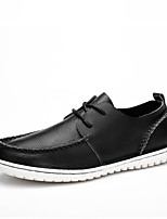 Men's Shoes Outdoor / Casual Nappa Leather Oxfords Black / Blue / Brown