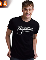 Men's Short Sleeve T-Shirt,Cotton Casual Print