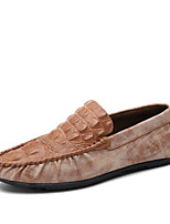 Men's Shoes Outdoor / Casual Loafers Black / Brown / Gray