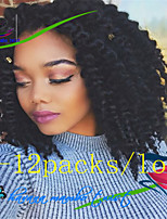 2X Mambo Twist 1Pack/Lot 12-24'' Synthetic Hair Havana Twist Crochet Braids for Afro Curly