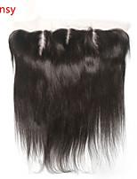 frontal completa de encaje peluca malasia virginal del pelo de cierre 4