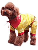 Dog Coat Yellow Winter Fashion