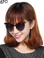 Sunglasses Women's Fashion Cat-eye Black / Coffee / Brown Sunglasses / Driving Half-Rim