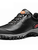 Men's Hiking Shoes Trail Running Shoes Nappa Leather Black / Taupe
