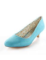 בלרינה\עקבים - נשים - נעלי חתונה - עקבים / מעוגל - חתונה / שמלה / מסיבה וערב - כחול / סגול / שנהב / כסוף