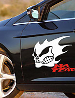Reflective Ghost Rider Morfo Car Stickers(2PC).