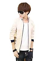 2016 new spring tide male Korean slim jacket collar jacket mens jacket youth students tide