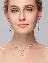 Women's Rhinestone Jewelry Set Rhinestone
