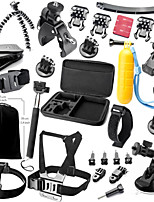 33 Acessórios GoProMontagem / Monopé / Tripé / Alças / Bolsas / Boje / Sucção / Acessório Kit / Clipe / Filtro Anti Neblina / Chaves