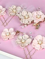 Women's Fabric Headpiece - Wedding Headbands 8 Pieces
