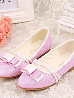 Girls' Shoes Outdoor / Casual Pointed Toe Faux Leather Loafers Blue / Pink / White