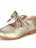 Girls' Shoes Wedding / Outdoor / Party & Evening / Dress / Casual Comfort / Styles/ Closed Toe Flats Pink / Gold