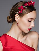 Dame Legering / Stoff Headpiece Bryllup / Spesiell Leilighet Kranser Bryllup / Spesiell Leilighet 1 Deler