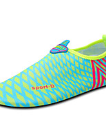 Unisex Athletic Shoes Spring / Summer / Fall / Winter Comfort Synthetic Outdoor / Athletic Flat Heel Polka Dot Blue / Orange / Coral
