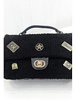 VENETA Women PU Flap Shoulder Bag / Tote / Satchel - White / Brown / Red / Black