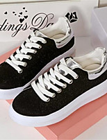 Women's Shoes Canvas Platform Comfort Fashion Sneakers Outdoor / Casual Black / Gray