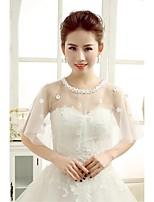 Wedding / Party/Evening Lace / Tulle Shrugs Sleeveless Wedding  Wraps