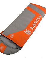 Sleeping Bag Rectangular Bag Single -5℃ Duck Down 1500g 215X80 Traveling KEEP WARM LANGYA