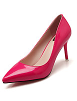 Women's Shoes Stiletto Heel Heels / Pointed Toe / Closed Toe Heels Dress Black / Pink / Red / White