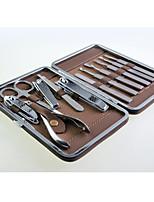 alta qualidade manicure aço inoxidável conjunto 12 em 1