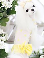 Dog Coat Blue / Yellow Summer Fashion