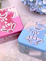 Geschenk Schachteln(Rosa / Blau,Metall) -Nicht personalisiert-Babyparty / Geburtstag