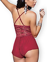Women Chemises & Gowns / Teddy Nightwear , Lace / Polyester