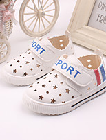 Baby Shoes Outdoor / Casual Leather Loafers Yellow / White