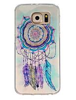 Para Samsung Galaxy Capinhas Estampada Capinha Capa Traseira Capinha Filtro dos Sonhos TPU Samsung S7 / S6 edge / S6